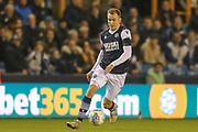 Millwall midfielder Jed Wallace (7) during the EFL Sky Bet Championship match between Millwall and Nottingham Forest at The Den, London, England on 6 December 2019.