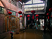 Vietnam, Hoi An:ancient house after the flood.