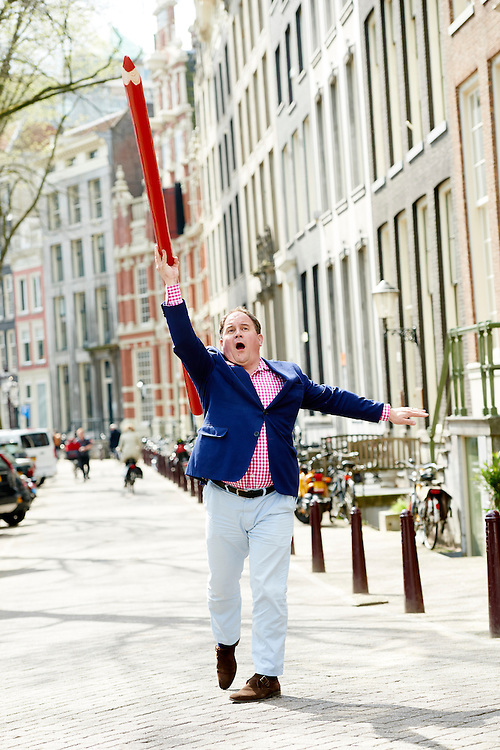 Amsterdam 12-04-16  Eppo van Nispen tot Sevenaer Directeur Stichting Collectieve Propaganda van het Nederlandse Boek  CPNB  ©Marco Hofste