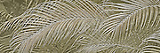 Palm fronds abstract design relief panorama