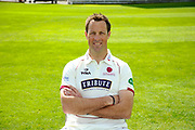 County Championship kit portrait of Marcus Trescothick during the Somerset County Cricket Club PhotoCall 2017 at the Cooper Associates County Ground, Taunton, United Kingdom on 5 April 2017. Photo by Graham Hunt.