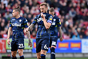 Leeds United defender Liam Cooper (6) during the EFL Sky Bet Championship match between Bristol City and Leeds United at Ashton Gate, Bristol, England on 9 March 2019.