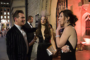 PAUL MCGHIE; LAURA MAXWELL; NICOLA PHILLIPS, The Secret Winter Gala in aid of Save the Children and sponsored by Bulgari. Guildhall. London. 26 November 2013
