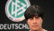 Germany head coach Joachim Low speaks at a press conference at Stadio Communale, Ascona<br /> Picture by EXPA Pictures/Focus Images Ltd 07814482222<br /> 31/05/2016<br /> ***UK &amp; IRELAND ONLY***<br /> EXPA-EIB-160531-0017.jpg