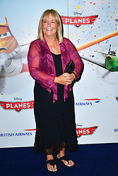 Planes 3D Film Screening.<br /> Linda Robson during the screening of animated spin off of Cars. Odeon Leicester Square<br /> London, United Kingdom<br /> Sunday, 14th July 2013<br /> Picture by Nils Jorgensen / i-Images