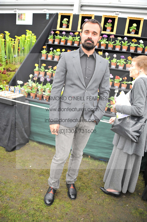 EVGENY LEBEDEV at the 2012 RHS Chelsea Flower Show held at Royal Hospital Chelsea, London on 21st May 2012.