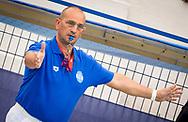 Arbitro<br /> Plebiscito Padova (white cap) Vs Bogliasco 1951 (Blue Cap)<br /> Semifinale 1<br /> FIN Final Six Pallanuoto Femminile 2017<br /> Rapallo (GE) <br /> 12  Maggio 2017<br /> Photo P. Mesiano/Insidefoto/Deepbluemedia
