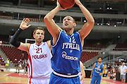 Danzica - Polonia 05 Agosto 2012 - TORNEO INTERNAZIONALE SOPOT CUP - Polonia Italia<br /> Nella Foto : MARCO CUSIN<br /> Foto Ciamillo