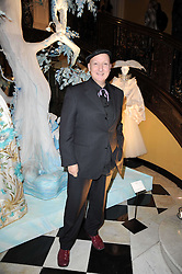 STEPHEN JONES at the launch of the Claridge's Christmas Tree designed by John Galliano for Dior held at Claridge's, Brook Street, London on 1st December 2009.