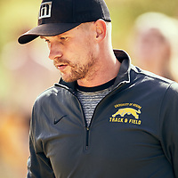 Track and Field Head Coach, Wade Huber at the Regina Cougars Cougar Trot on Sat Sep 15 at Wascana Park. Credit: Arthur Ward/Arthur Images