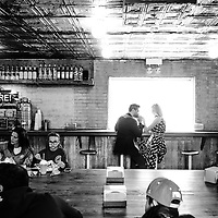 Kate & Gabe pictured in Chicago Saturday, October 15, 2016. Kate & Gabe pictured at Small Cheval in Chicago on Saturday, October 15.