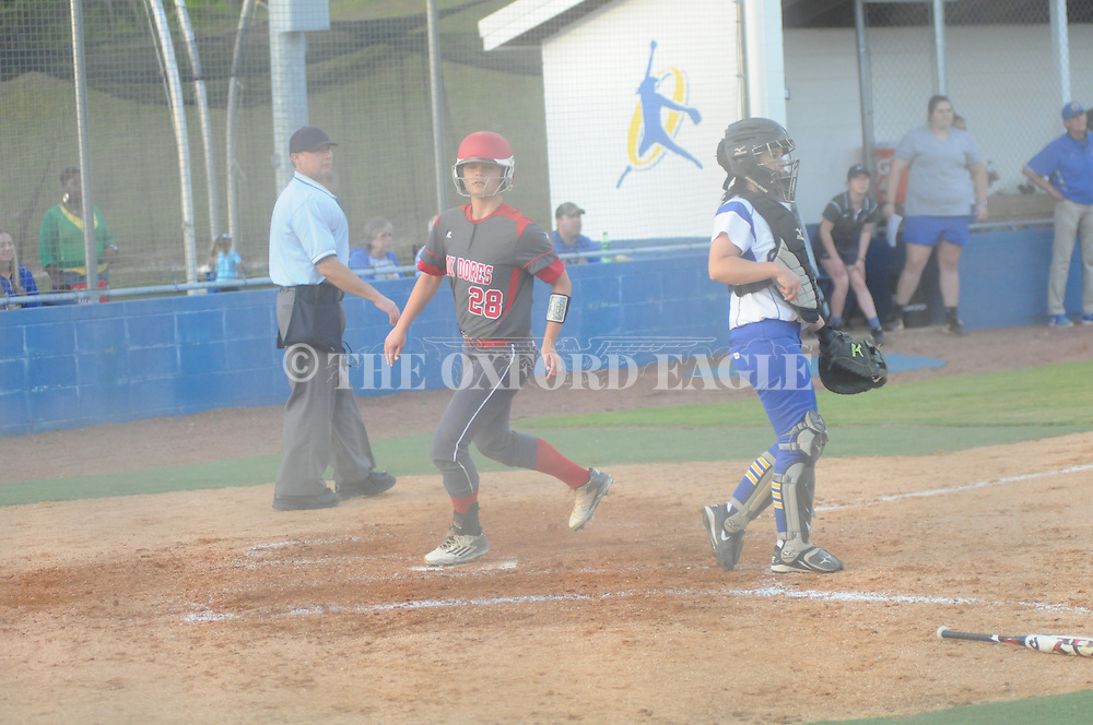 Oxford High vs. Lafayette High in Oxford, Miss. on Monday, April 18, 2016. Lafayette High won 18-5 in 6 innings.