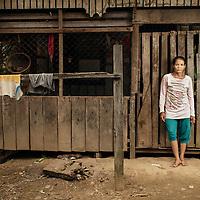 Dayak Punan of Teronoi, Central Kalimantan, Indonesia.<br /> <br /> Ibu Unip.