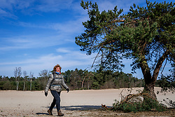 18-03-2018 NED: We hike to change diabetes, Soest<br /> Training voor de Camino 2018 op de Soesterduinen / Corrine