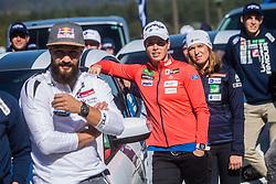 Katja Visnar at media day of Ski Association of Slovenia before new winter season 2018/19, on October 4, 2018 in Ski resort Pohorje, Maribor, Slovenia. Photo by Grega Valancic / Sportida