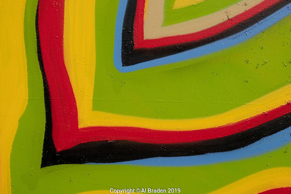 Bill Travis Mural, Wood Hollow Rd., Austin, TX