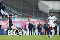 Marcelo Bosch - Penalite de la victoire - 05.04.2015 - Racing Metro 92 / Sarances - 1/4Finale European Champions Cup<br />Photo : Andre Ferreira / Icon Sport