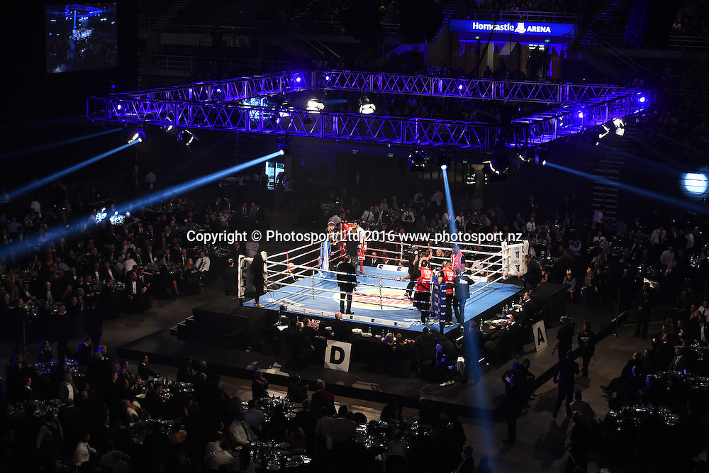 Burger King Road to the Title by Duco Boxing. Horncastle Arena, Addington, Christchurch, New Zealand. Thursday 21 July 2016. ©Copyright Photo: Chris Symes / www.photosport.nz