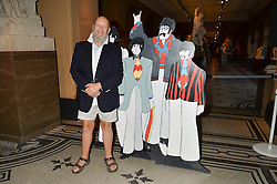 MICHAEL EAVIS at a private view of You Say You Want A Revolution: Records and Rebels 1966-1970 at the V&A, London on 7th September 2016.