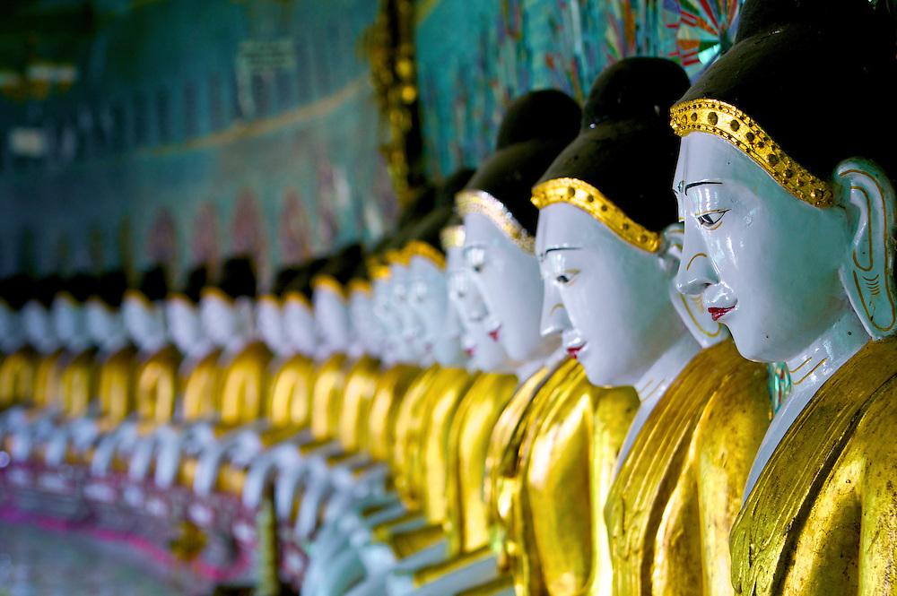 Umin Thouzeh Pagoda, Sagaing, Myanmar.