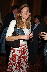 RACHEL WHETSTONE at a party to celebrate the publication o'Seventy Two Virgins' by Boris Johnson held at The Travellers Club, 106 Pall Mall, London on 14th September 2004.<br />