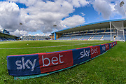 Sky Bet branding wedges ahead of the EFL Sky Bet League 1 match between Gillingham and Coventry City at the MEMS Priestfield Stadium, Gillingham, England on 25 August 2018.
