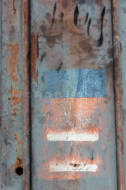 abstraction of found metal
