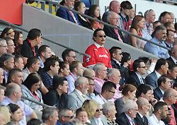 Cardiff owner Vincent Tan watches on. - Photo mandatory by-line: Alex James/JMP - Tel: Mobile: 07966 386802 25/08/2013 - SPORT - FOOTBALL - Cardiff City Stadium - Cardiff -  Cardiff City V Manchester City - Barclays Premier League