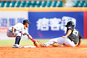NEW TAIPEI CITY, TAIWAN - NOVEMBER 16:  PLAYER # of Team New Zealand ACTION during Game 3 of the 2013 World Baseball Classic Qualifier against Team Thailand at Xinzhuang Stadium in New Taipei City, Taiwan on Friday, November 1, 2012.  Photo by Yuki Taguchi/WBCI/MLB Photos
