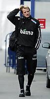 Fotball / Football<br /> Trening Norge foran Play Off mot Tsjekkia<br /> Training Norway in front of the play off match v Czech Republic<br /> Praha / Prague<br /> 15.11.2005<br /> Foto: Morten Olsen, Digitalsport<br /> <br /> Bård Borgersen - Start