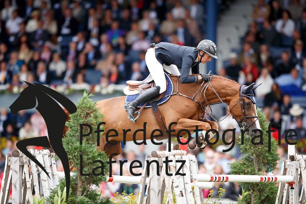 Peter Steiner, Nadja (SUI), Saura de Fondcombe<br /> Aachen - CHIO 2017<br /> Grosser Preis von Aachen Rolex Grand Prix<br /> © www.sportfotos-lafrentz.de/Stefan Lafrentz