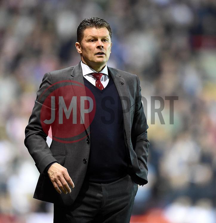 Bristol City manager Steve Cotterill - Photo mandatory by-line: Paul Knight/JMP - Mobile: 07966 386802 - 07/04/2015 - SPORT - Football - Bristol - Ashton Gate Stadium - Bristol City v Swindon Town - Sky Bet League One