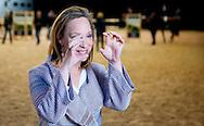 AMSTERDAM - Portret van prinses Margarita bourbon de parme tijdens jumping amsterdam De prinses is sinds een jaar bestuurslid van Jumping Amsterdam copyright robin utrecht