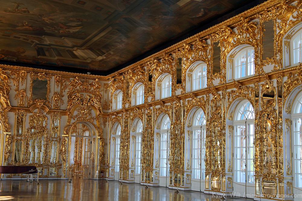 Grand Ballroom At Catherine Palace Mira Terra Images