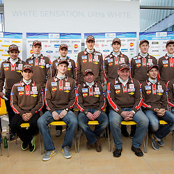 20121117: SLO, Nordic Ski - Slovenian Ski Jumping team at press conference