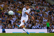 Leeds United forward Helder Costa (17), on loan from Wolverhampton Wanderers,  during the EFL Cup match between Leeds United and Stoke City at Elland Road, Leeds, England on 27 August 2019.