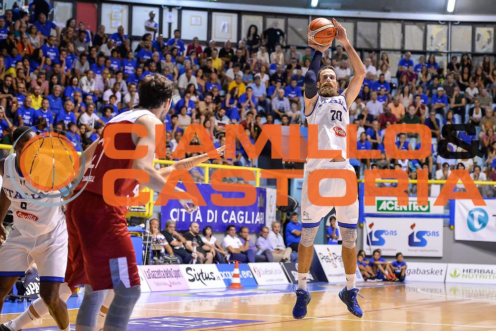 Datome Luigi<br /> Nazionale Italiana Maschile Senior - Sardegna a Canestro 2017<br /> Italia - Turchia Italy - Turkish <br /> FIP 2017<br /> Cagliari, 13/08/2017<br /> Foto M.Ozbot / Ciamillo-Castoria