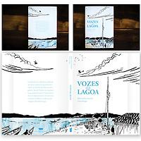 Ilustração da capa do livro Vozes da Lagoa.