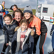 NLD/Biddinghuizen//20170305 - De Hollandse 100 - Stichting Lymph & Co 2017, Prins Floris met partner Prinses Aimee en dochters Maigal en Eliane