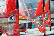 Dinghies on sale at a show discount. The CWM FX London Boat Show, taking place 09-18 January 2015 at the ExCel Centre, Docklands, London. 09 Jan 2015.
