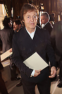 PARIS, FRANCE - MARCH 07:  Sir Paul McCartney attends the Stella McCartney Ready to Wear Autumn/Winter 2011/2012 show during Paris Fashion Week Opera Garnier on March 7, 2011 in Paris, France.  (Photo by Tony Barson/WireImage)