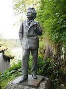 Statue of composer Edvard Grieg, Bergen, Norway