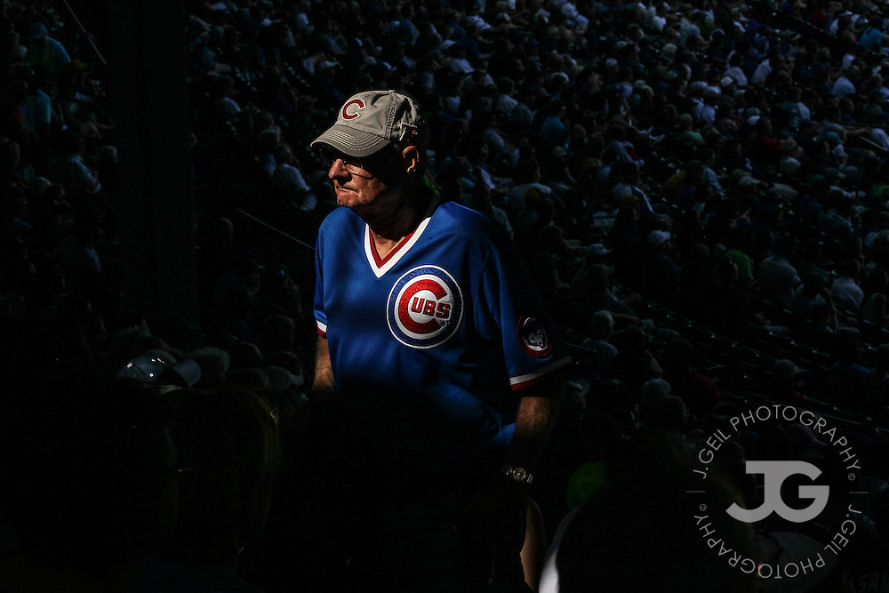Chicago Cubs vs. Milwaukee Brewers at Wrigley Field, Thursday, August 30, 2012. | J.Geil Photography
