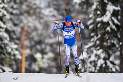 March 9, 2019 - –Stersund, Sweden - 190309 Wenqiang Wang of China competes in the Men's 10 KM sprint during the IBU World Championships Biathlon on March 9, 2019 in Östersund..Photo: Petter Arvidson / BILDBYRÃ…N / kod PA / 92252 (Credit Image: © Petter Arvidson/Bildbyran via ZUMA Press)