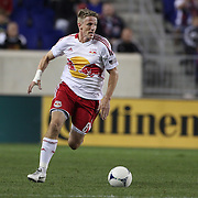 Jan Gunnar Solli, New York Red Bulls, in action during the New York Red Bulls V Toronto FC  Major League Soccer regular season match at Red Bull Arena, Harrison. New Jersey. USA. 29th September 2012. Photo Tim Clayton