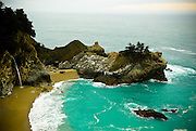 McWay Falls in<br /> Julia Pfeiffer Burns State Park, Big Sur, Calif., on March 6, 2008.