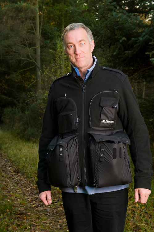 Gitzo photographer's fleece (worn by Niall Benvie)