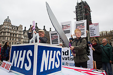 2019-11-25 Take Our NHS Off The Table protest