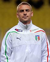 Fussball International, Italienische Nationalmannschaft  Italien - Kamerun 03.03.2010 Daniele De Rossi(ITA)