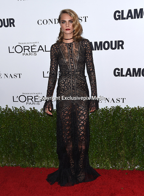 Cara Delevingne @ the 2016 Glamour Women of the Year awards held @ the NeueHouse.<br /> ©Exclusivepix Media